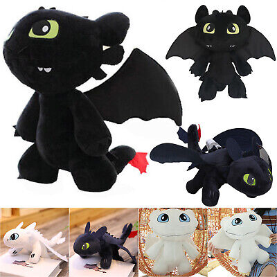 How to Train Your Dragon Toothless Night Fury Stuffed Plush Toys Gifts Collect