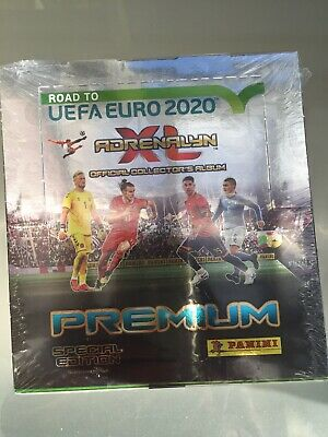 Road To Uefa Euro 2020 Adrenalyn XL Official Trading Cards (12 Packs In A Box)