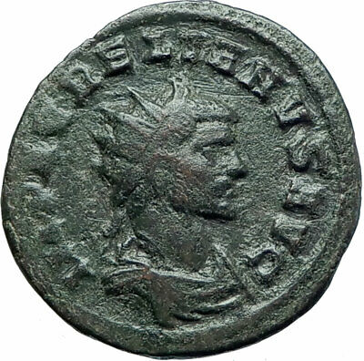 AURELIAN  270AD Authentic Ancient Roman Coin Marital harmony Concordia i79260