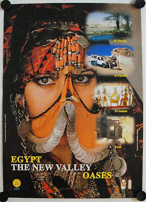 Affiche EGYPTE The New Valley - Oasis - Tourisme