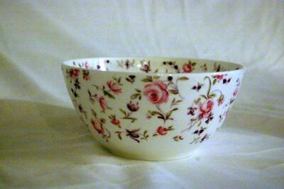 "Royal Albert 2019 Rose Confetti Coupe Shape Cereal Bowl 5 3/4"" Modern Casual"