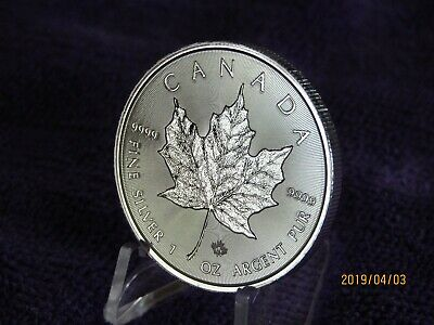 New Coin  Incuse 2019 Canada 9999 Silver Maple Leaf 1 OZ Special Edition