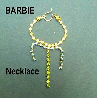 New Barbie Doll Clothes Jewellery necklace accessories evening wedding