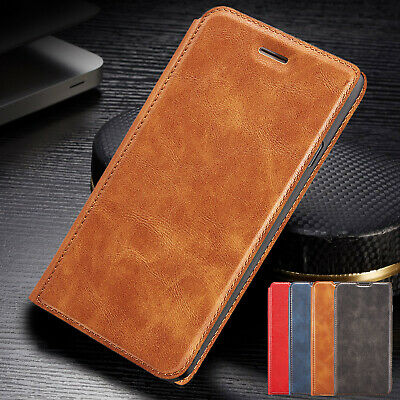 Slim Leather Flip Wallet Stand Card Case Cover For Huawei P30 Pro P Smart 2019