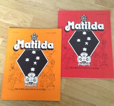 "Vintage Girl Guides Association ""Matilda"" Magazines From 1979 - Fantastic Cond!"