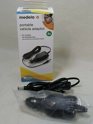 Medela Portable Vehicle Adapter 67174  with 6' Cord NIB