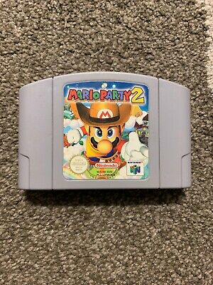 Nintendo 64 Game Mario Party 2  Pal