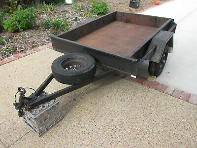6 x 4 All steel, Made by Victorian Trailers in Dec. 2011. Good cond. Ready to go