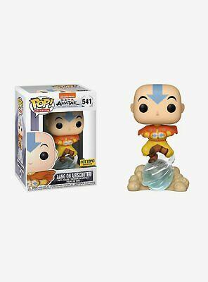 Funko Pop! Aang On Air Scooter #541 Avatar The Last Airbender Hot Topic Exclusiv
