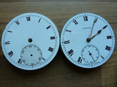 Two Vintage High Grade Jewelled Pocket Watch Movements