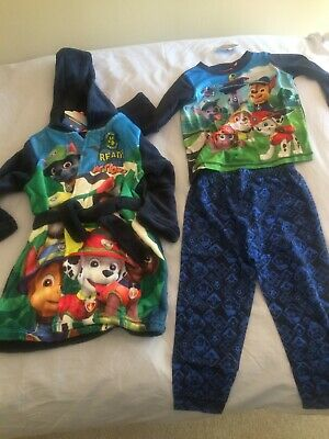 Nickelodeon Paw Patrol boys robe and pyjamas set, brand new, aged 18-24 months