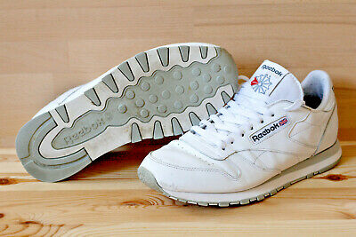 best authentic 8298a 1b682 REEBOK CLASSIC CL Leather Weiß Weiss White 43 10 9 Sneaker Sneakers  Laufschuhe