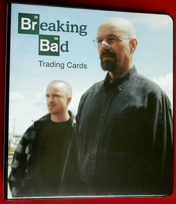 BREAKING BAD - OFFICIAL TRADING CARD BINDER - Cryptozoic - BINDER ONLY