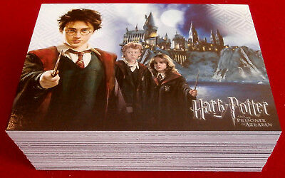HARRY POTTER - PRISONER OF AZKABAN - COMPLETE BASE SET, 72 cards CARDS INC, 2004