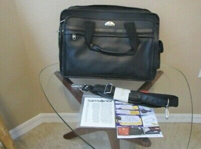 Samsonite Expandable Portfolio Black 932375 Case