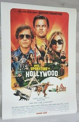 ONCE UPON A TIME IN HOLLYWOOD (2019) - POSTER 27x40 DS ORIGINAL