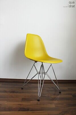 VITRA CHAIR BY Charles Eames DSW Plastic Stuhl Schale - EUR 319,00 ...