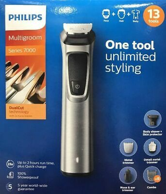Philips Series 7000, 13 in 1 Face, Hair and Body Multigroom MG7715/13 Brand new
