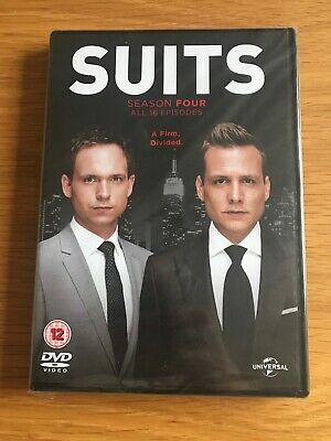 Suits - Season 4 (Series Four) - Meghan Markle - R2 DVD **New Sealed**