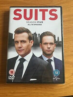 Suits - Season 5 (Series Five) - Meghan Markle - R2 DVD **New Sealed**
