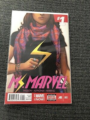 Ms Marvel #1-16 Full Run 1St Print -  First Kamala Khan Solo Series Key Comic