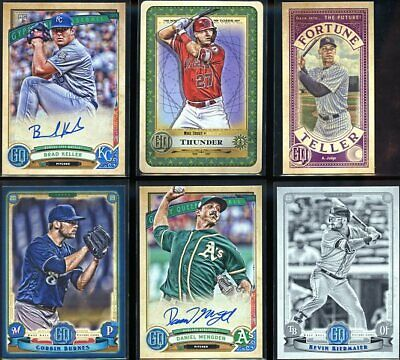 2019 Topps Gypsy Queen - Inserts / Parallels / Autographs - Pick Your Player