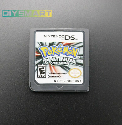 Pokemon Platinum USA edition Video Play Card For Nintendo NDS 3DS DSI NDSL AU