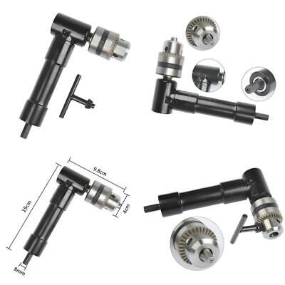 """Ofnmy Cordless Right Angle Drill Attachment Adapter 90 Degree Handle Chuck 3/8"""""""