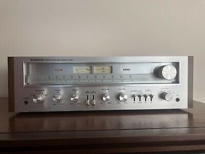 Vtg PIONEER SX-650 RECEIVER AM/FM STEREO TESTED Antenna Phono Stage 1166