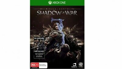 Middle Earth Shadow of War for Xbox One - Xbox One X Enhanced