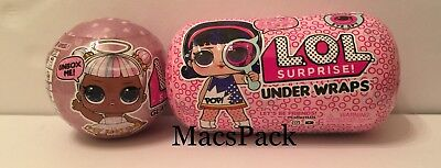LOL Surprise Dolls Under Wraps Series 4 & Glam Glitter Series 2 Big Sisters