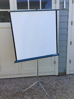 Vintage Retro Projector Screen