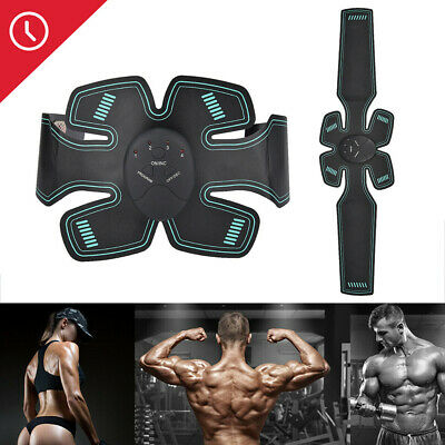 EMS Trainer Abdominal Toning Muscle Toner Gym Abs Smart Fitness Belt Home Hot