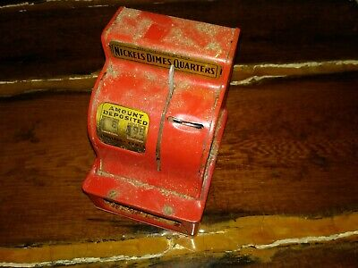 Uncle Sam's 3 Coin Register Bank - Western Stamping Corp. Restoration Project