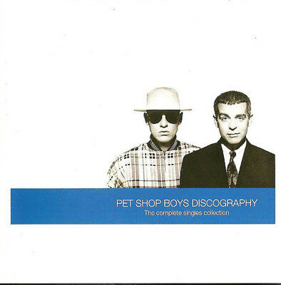 Pet Shop Boys – Discography The Complete Singles Collection CD EMI 1991 USED