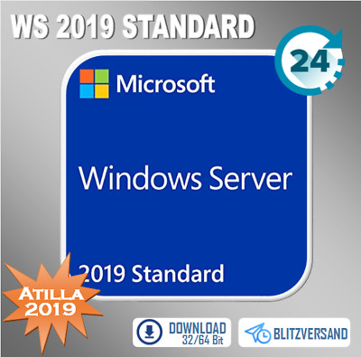 Win Server 2012 R2/2016/2019 (Ess, Std, Data, RDS CAL User/Device 10/20/50)