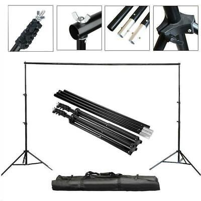 2x3m Adjustable Photo Studio Photography Background Backdrop Support Stand UK