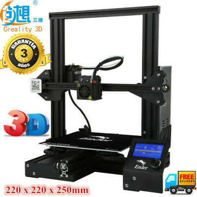 Creality3D Ender - 3 V-slot Prusa I3 Impresora 3D DIY KIT,180mm /s,3D Printer ES