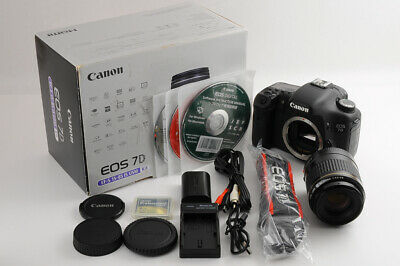 【TOP MINT in BOX】CANON EOS 7D 18.0MP 13k Shutter Count +EF 80-200mm F/4.5-5.6 JP