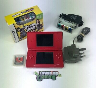 Nintendo DS Lite Handheld System Games Console Bundle Red **FREE UK POSTAGE** #1