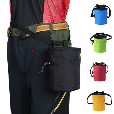 Rock Climbing Chalk Bag Waterproof Waist Bag Magnesium Powder Pouch Non-slip