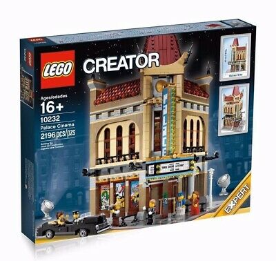 Lego Creator Palace Cinema 10232 Modular - Retired Brand New and Sealed