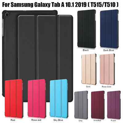 """For Samsung Galaxy Tab A 10.1"""" T510 T515 2019 Smart Case Cover Magnetic Leather"""