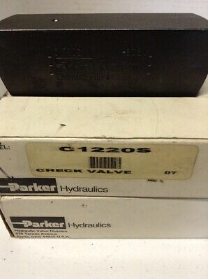 Parker Hydraulics C1220S Check Valve