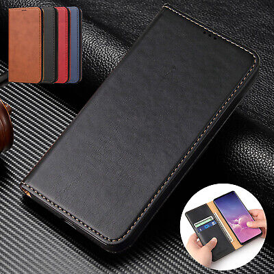 For Samsung Galaxy A50 A30 A70 S10 Plus Case Magnetic Flip Leather Wallet Cover