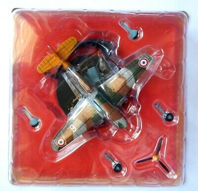 DeAgostini WW 2 Aircraft 1/72 French Air Force Fighter Dewoitine D.520 #37