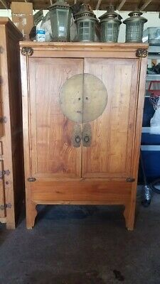 Ming Style Asian Antique Cabinet