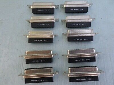 AMP 222699-1 Connector Adapter SMA Jack to 3.5mm BMA Plug Lot of 10