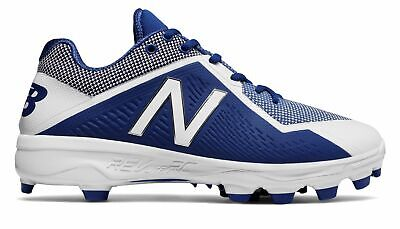 New Balance Low-Cut 4040V4 Tpu Baseball Cleat Mens Shoes Blue With White