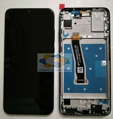 Touch Screen +Lcd Display + Frame Per Huawei Honor 10 Lite Hry-Lx1 Nero Hry-Al00